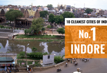 MOST GREENEST AND CLEANEST CITY