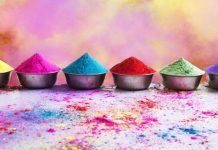 holi colours without side effect