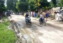 poor roads in raebareli